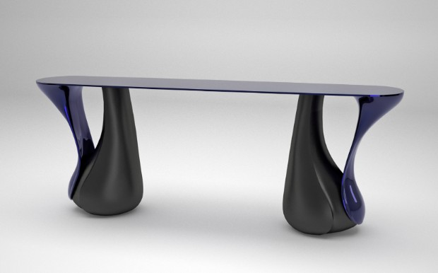 console tables console tables 10 Exquisite Modern Console Table Designs console double leaf