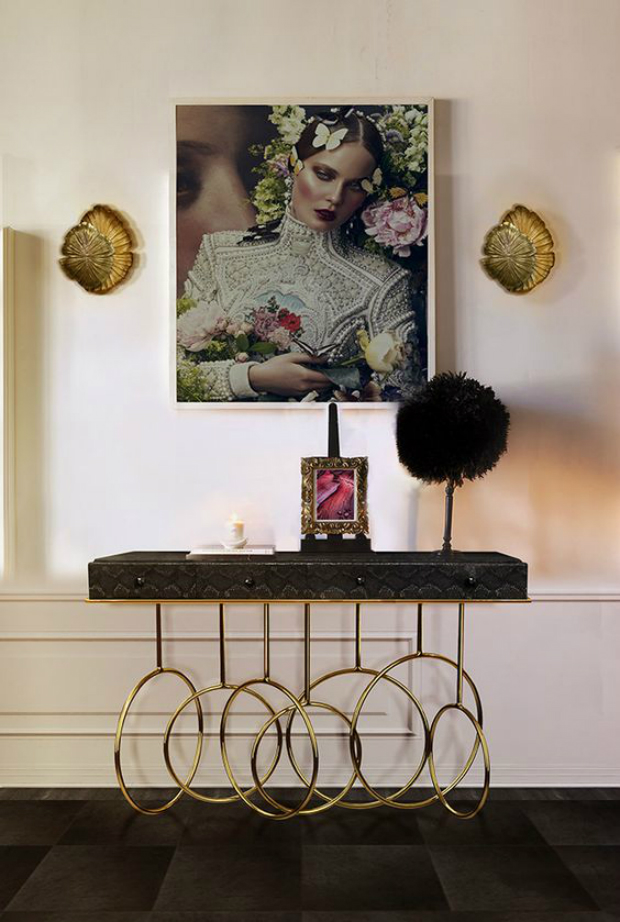 console table Where to find the Best Modern Console Tables koket burlesque