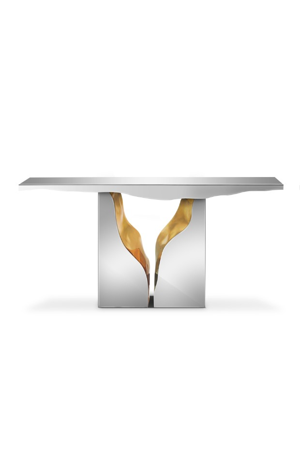 console table The Best Modern Console Tables At ICFF 2017 lapiaz console 01 2