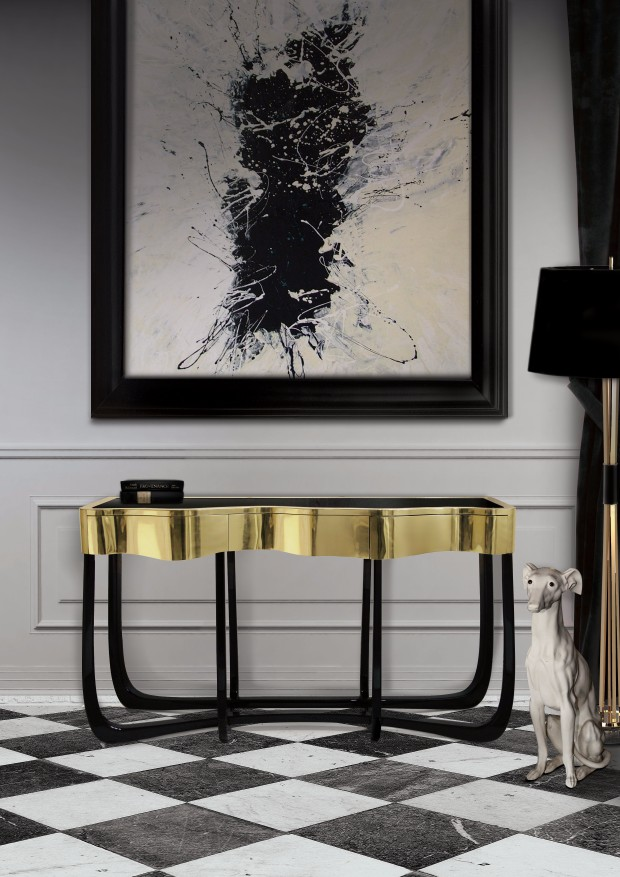 console table console table Discover the Best Home Design Projects with Console Tables sinuous