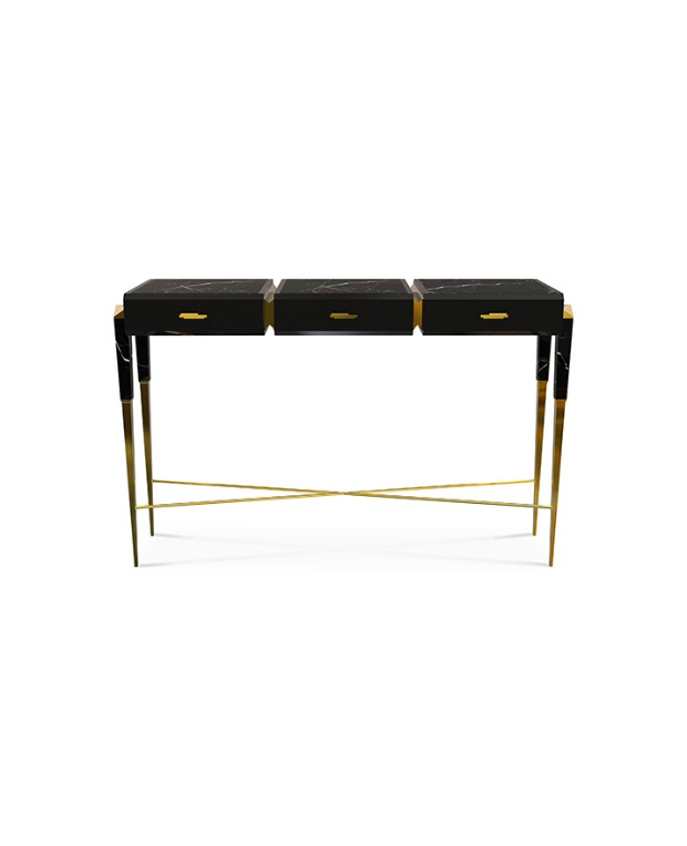 console table The Best Modern Console Tables At ICFF 2017 spear console 01
