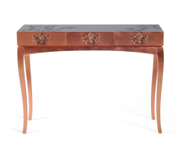 console table Striking Perfect Console Tables for your Home Office trinity 07