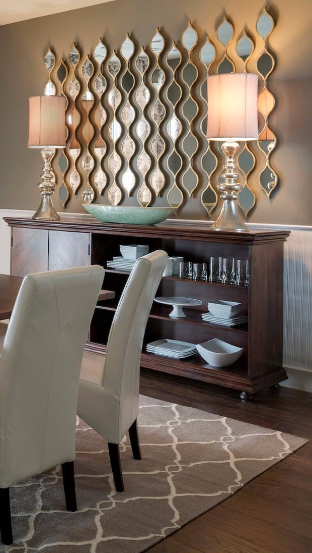 console table Perfect Console Tables for the Dining Area 07 mirror decoration ideas homebnc