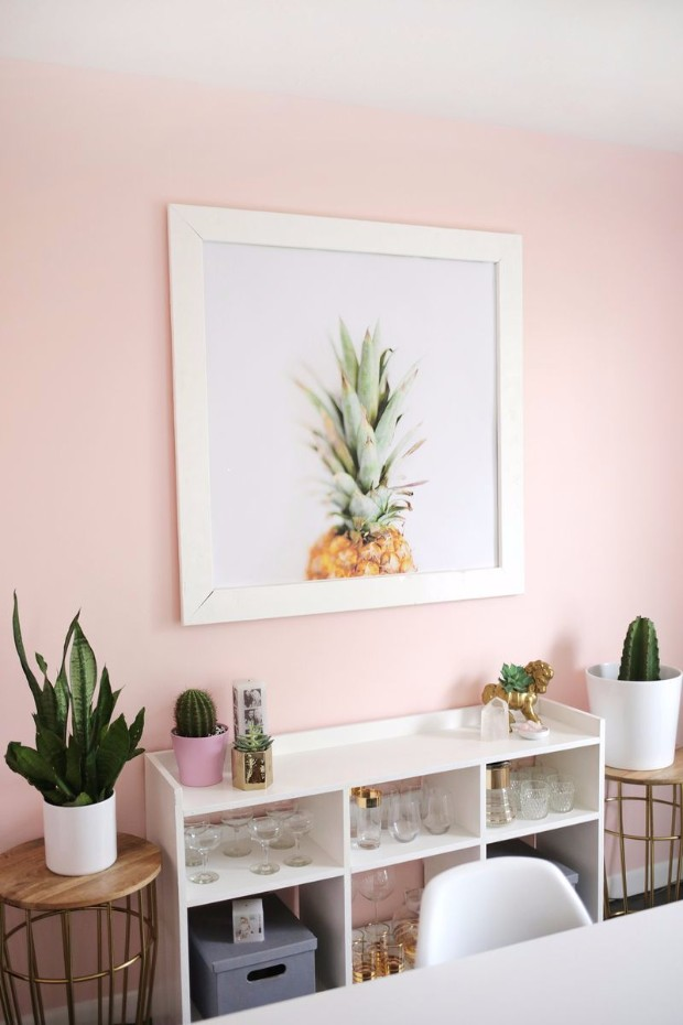millennial pink Dreamy Interiors with Millennial Pink 5ab98247ab684648487e2a8035bb04cf