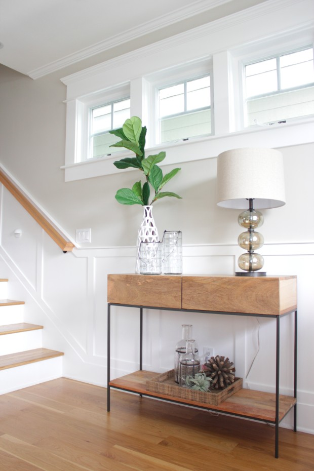 console table 15 Daring Console Tables with Storage Entry 1