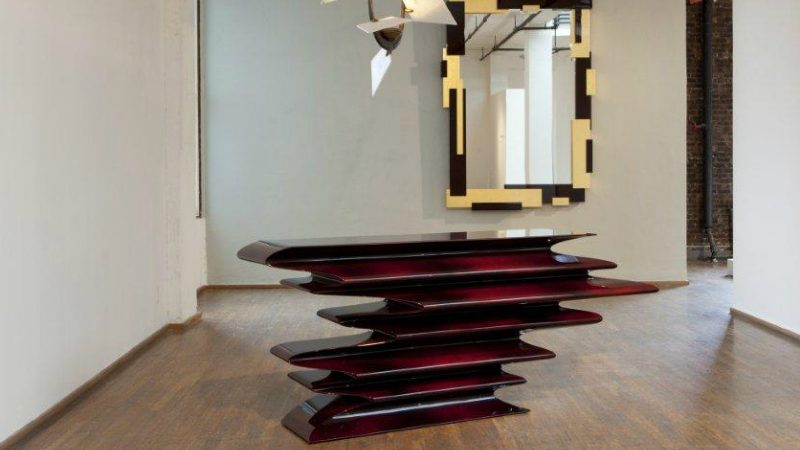 Art Van Foyer Tables : Magical console table designs by hervé van der straeten