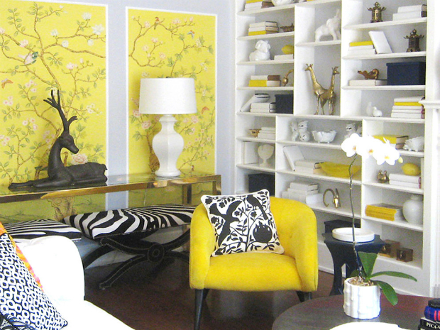 console Console Design Style 101: Hollywood Regency Magnificent bird aviary in Living Room Eclectic with Latest Home Decorating Trends next to Behind Sofa Console Table alongside Living Room Wallpaper andContemporary Furniture Ideas