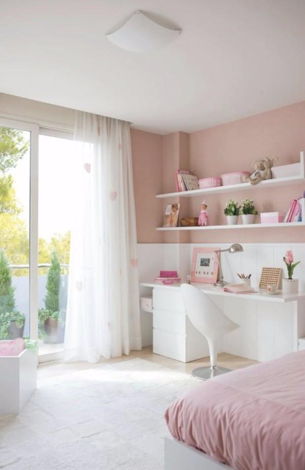 millennial pink Dreamy Interiors with Millennial Pink am groten wohnideen jugendraum jung kinderzimmer spielzimmer