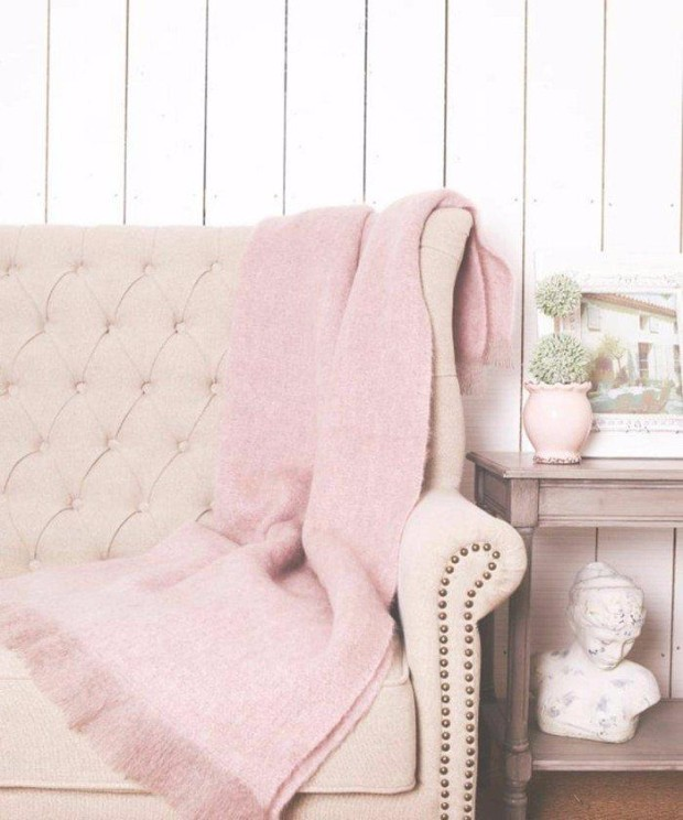 millennial pink Dreamy Interiors with Millennial Pink beautiful residential decoration in millennial pink