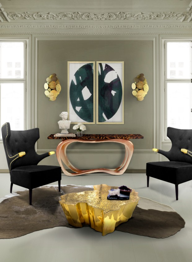 console table Modern Console Tables to Pair with your Sofa edensmall 1