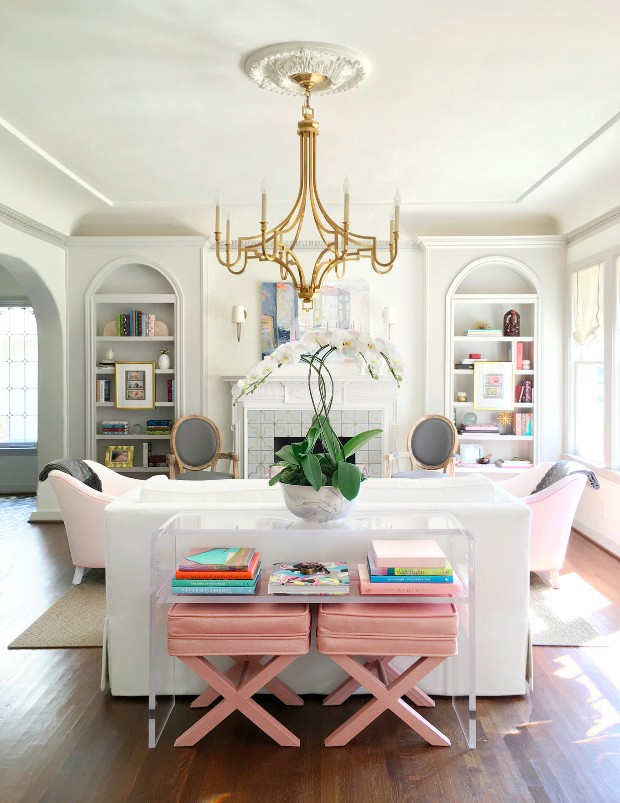 Dreamy Interiors With Millenial Pink