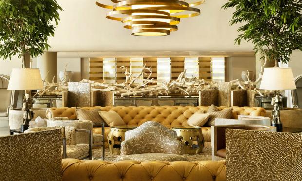 console Console Design Style 101: Hollywood Regency fullpage rsz classic hotel lobby hollywood regency kelly wearstler