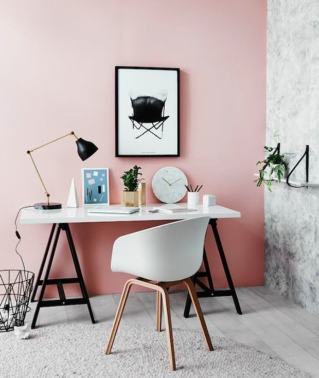 millennial pink Dreamy Interiors with Millennial Pink large cdc1814636e6281f80fd038eaec2b3c0