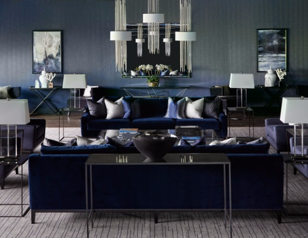 living room projects Amazing Living Room Projects With Console Tables 02 Private Jet Lounge2 by atherine pooley
