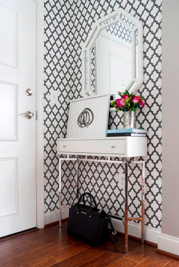 cool wallpapers How Cool Wallpapers Can Transform a Luxurious Entryway 495befdeea34106db5ed4c4a1ea273b2 1