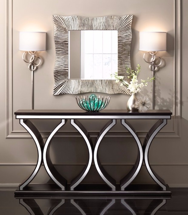 silver console table 10 Silver Console Tables You Must Have 71JdWl5KDsL