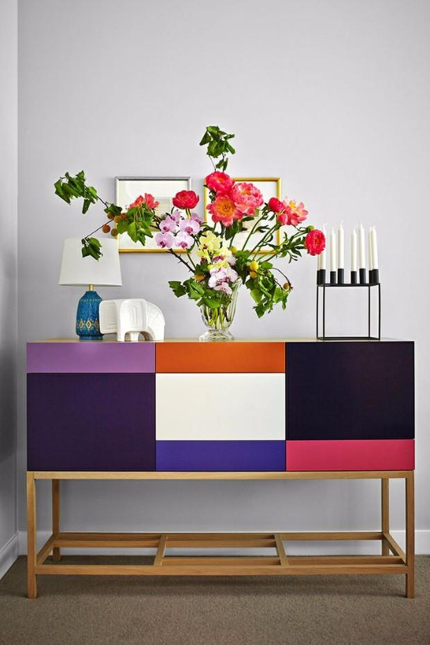 flower arrangements Eye-Catching Flower Arrangements for your Console 9ac15a2087dc1fe6895dcaead939a6bd
