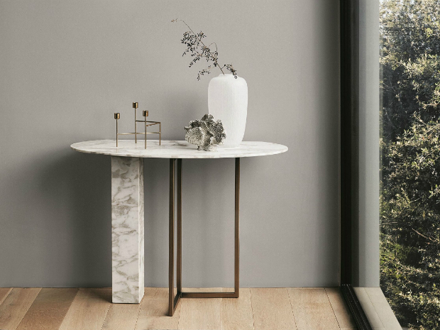 interior inspiration 12 Interior Inspiration Ideas with Marble Console Tables ABEL Meridiani 245262 rel445083e4