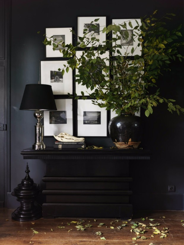 monochromatic color How to Pull off a Monochromatic Color Decoration Dark hallway by Erin Swift
