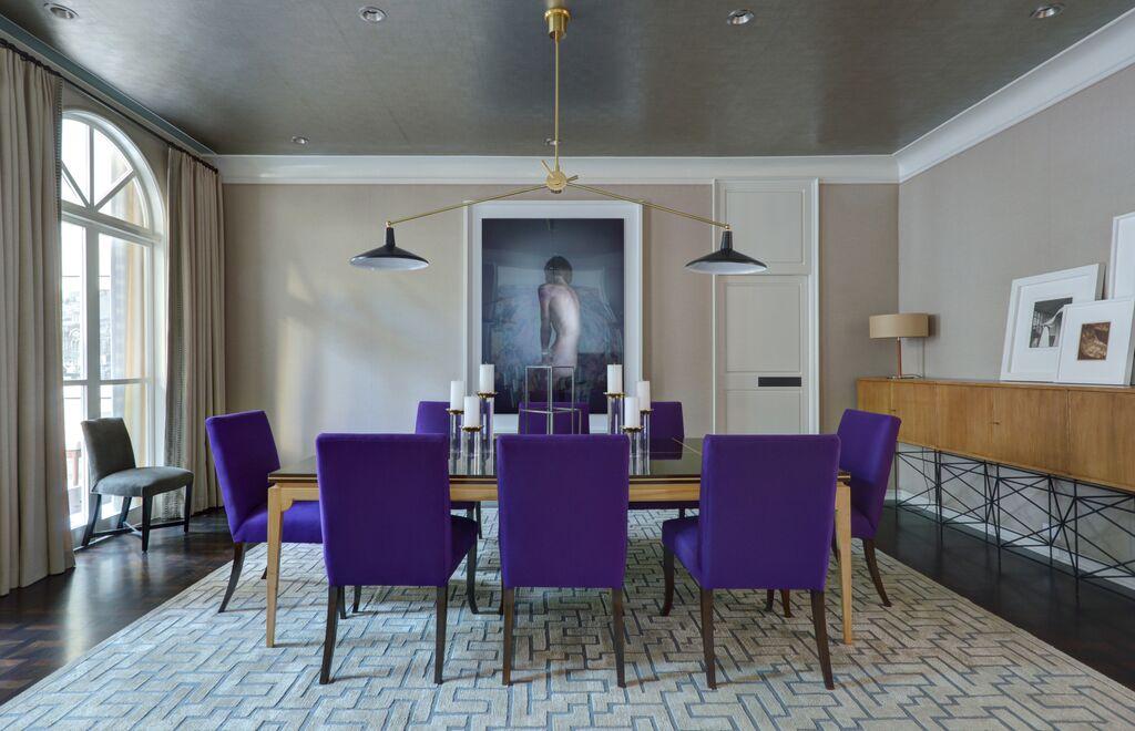 best interior designer Eric Cohler Stunning Interior Designs Dining Rm1 Sml