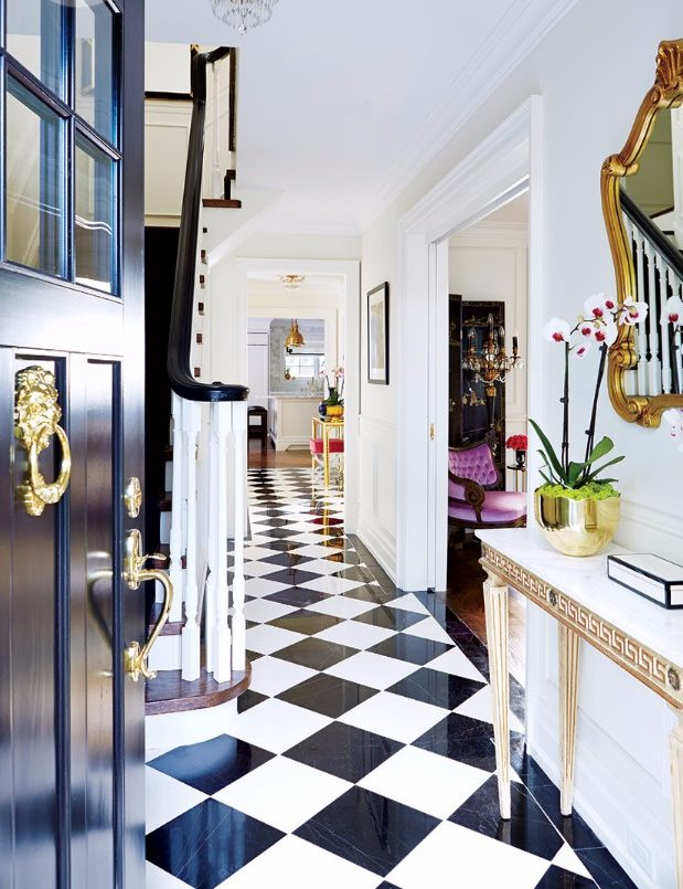 foyer design Eclectic Foyer Design Inspiration Eclectic Foyer Design Inspiration 09 e1498756997481