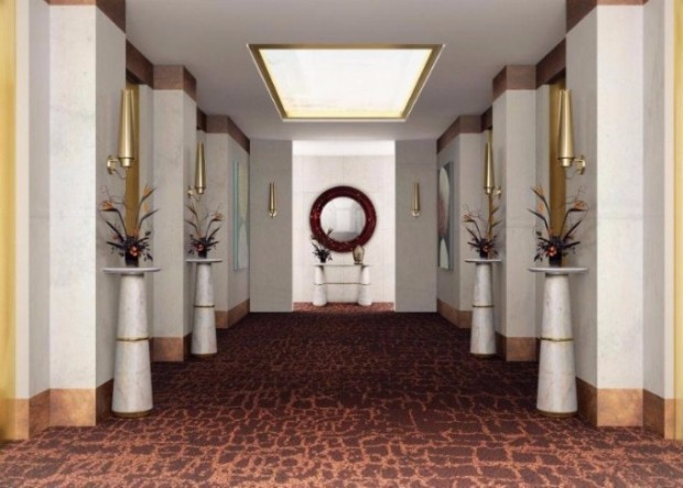 exclusive hotels Exclusive Hotels Design Ideas with Console Tables Exclusive Hotels Design Ideas with Console Tables 07