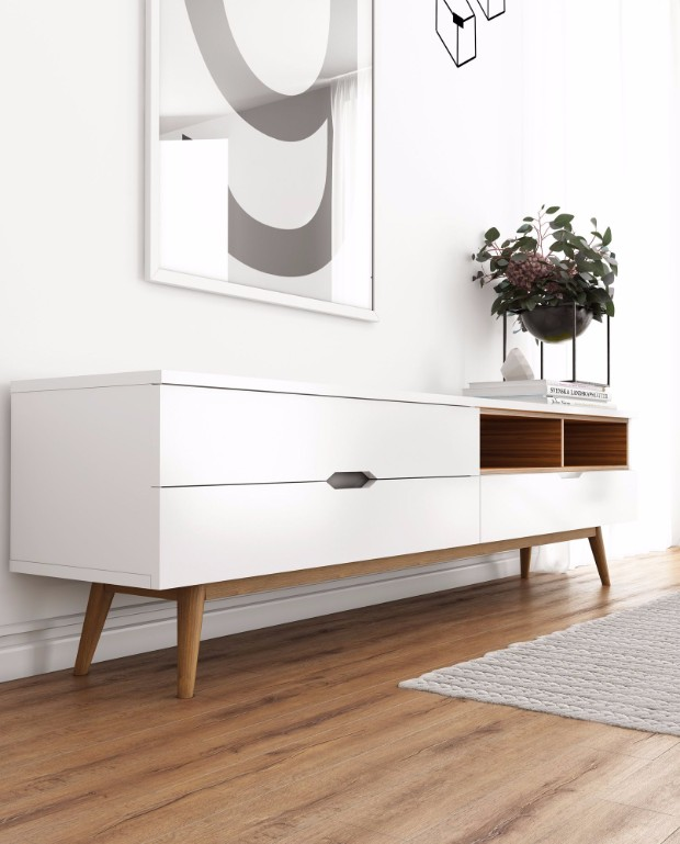 scandinavian modern style scandinavian modern style Trends 2017: Scandinavian Modern Style Nilsson TV Stand 2