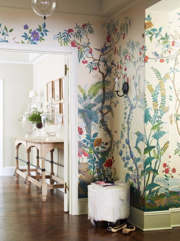 cool wallpapers How Cool Wallpapers Can Transform a Luxurious Entryway c90bdad570f236d36f47d5fdd6002976 1