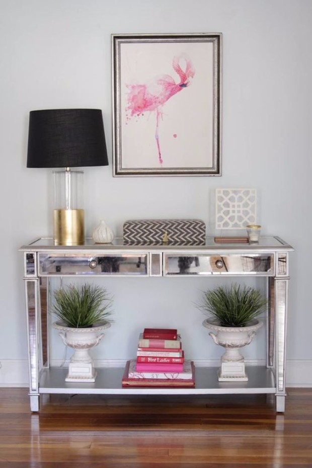 silver console table 10 Silver Console Tables You Must Have e6cc91b2b08756b6d417697d5fb2662f