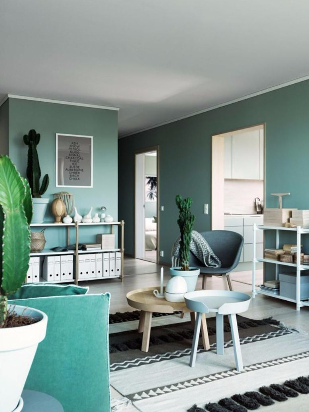 monochromatic color How to Pull off a Monochromatic Color Decoration green monochromatic colors