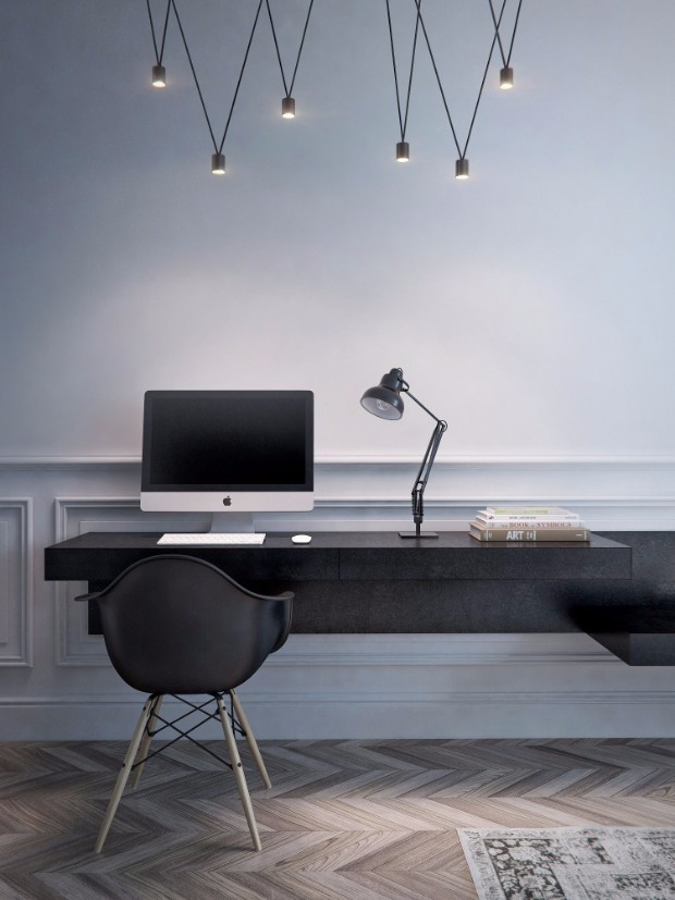 "color trends Color Trends 2017: ""Millennial Black"" workstation13"