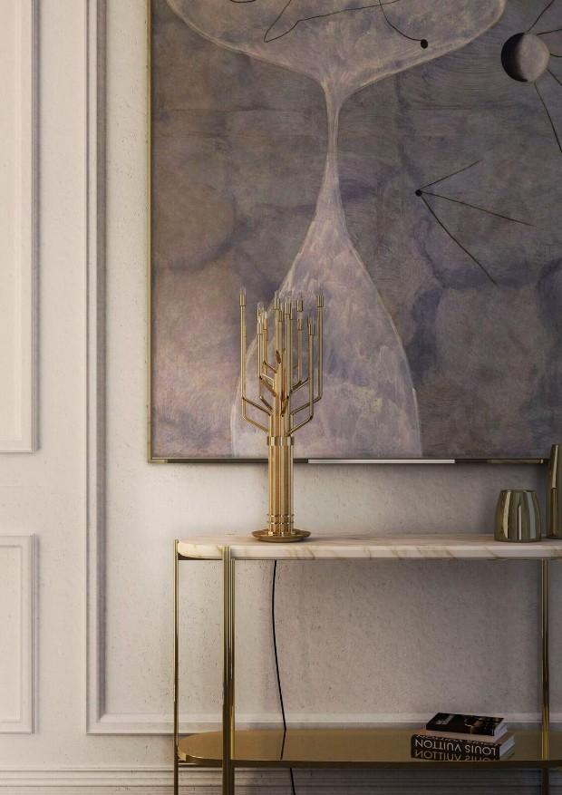 white interior design All in White Interior Design with Consoles All in White Interior Design with Consoles 05