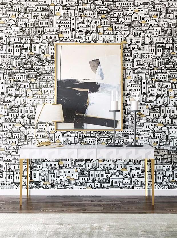 white interior design All in White Interior Design with Consoles All in White Interior Design with Consoles 06