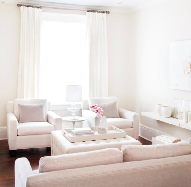 white interior design All in White Interior Design with Consoles All in White Interior Design with Consoles 07