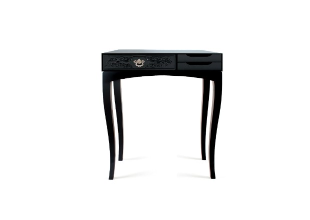 luxury interiors Back in Black Consoles for a Luxury Interiors Back in Black Consoles for a Luxury Interiors11