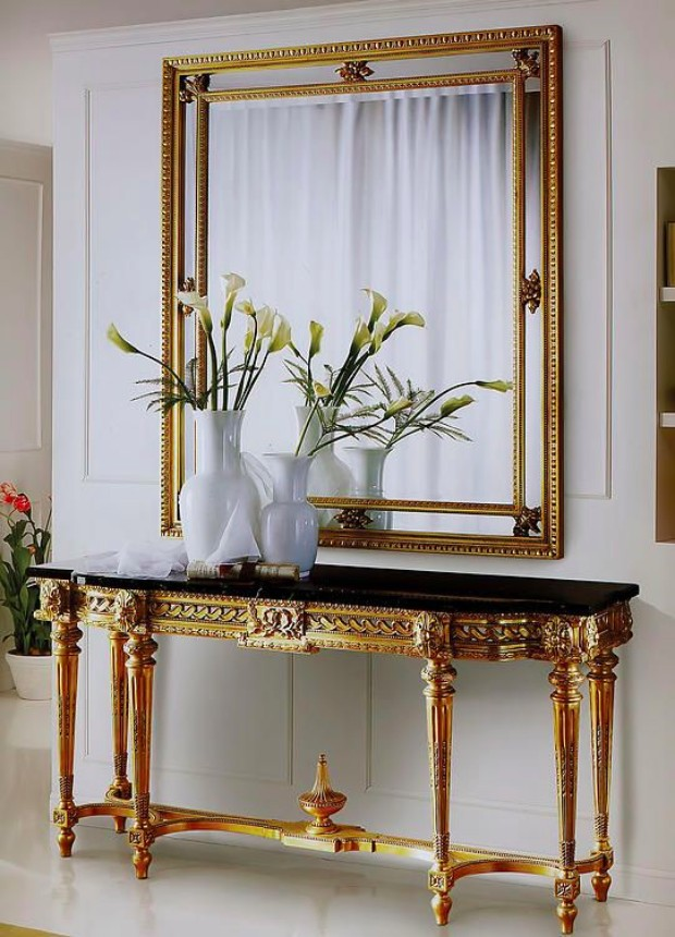 mirror Find the Perfect Mirror for your Modern Console Table Find the perfect Mirror for your Modern Console Table 2