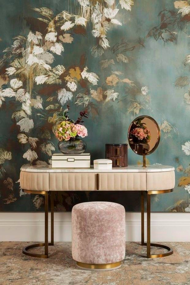 wallpapers 15 Inspiring Rooms with Wallpapers Inspiring Rooms with Wallpapers 13