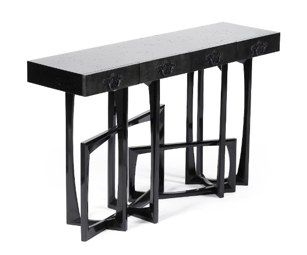 interior design styles Interior Design Styles with Gloss Finish Console Table metropolis 04