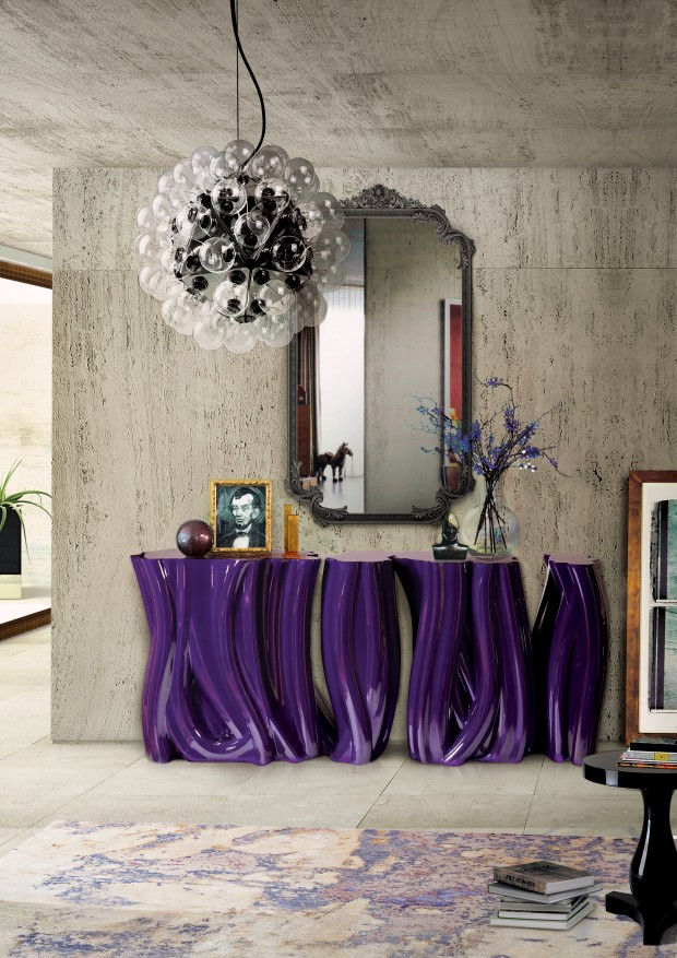 boca do lobo Be inspired by Boca do Lobo Monochrome Console Table monochrome