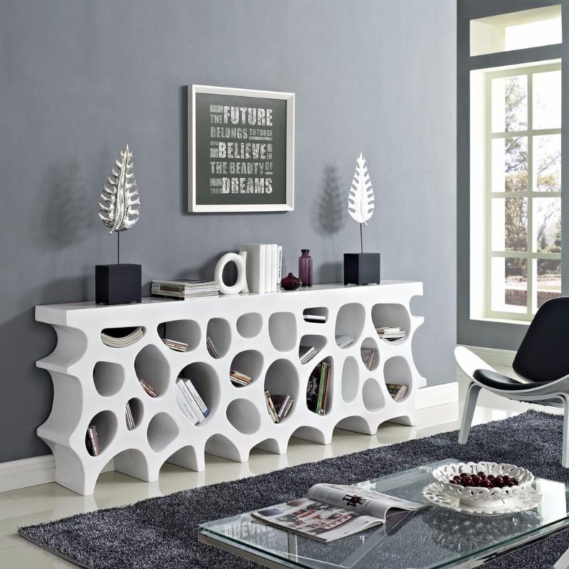 console tables, modern console tables, fabric console, home décor, decorations, design ideas, modern design, interior design styles