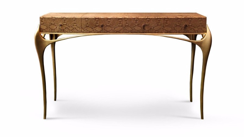 home décor 10 Fabric Modern Consoles for your Home Décor 10 Fabric Modern Consoles for your Home D  cor 9