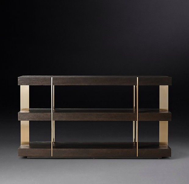 Be inspired by rh modern contemporary design consoles - Moderne consoles ...