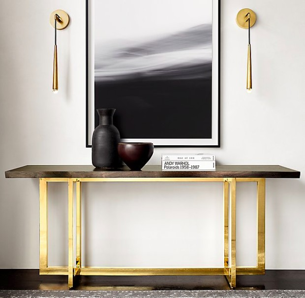 Contemporary Design Be Inspired By RH Modern Contemporary Design Consoles  Be Inspired By RH Modern Contemporary