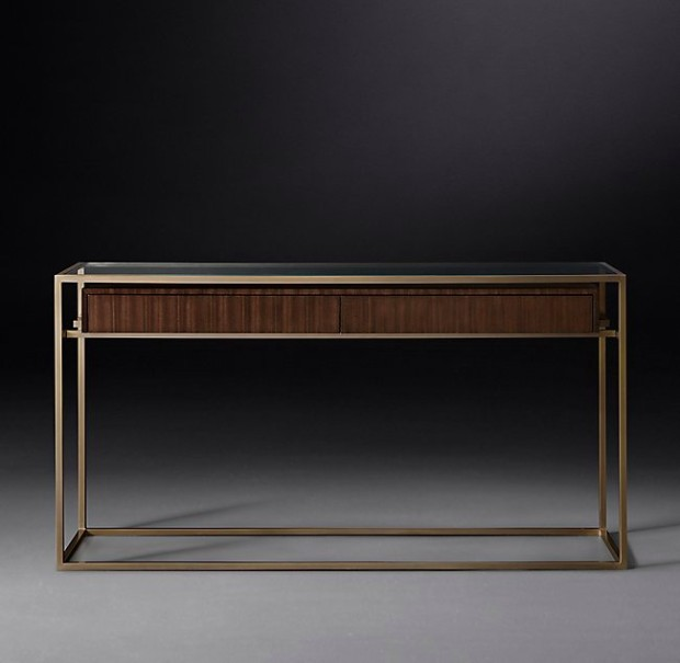 contemporary design Be inspired by RH Modern Contemporary Design Consoles Be inspired by RH Modern Contemporary Design Consoles3