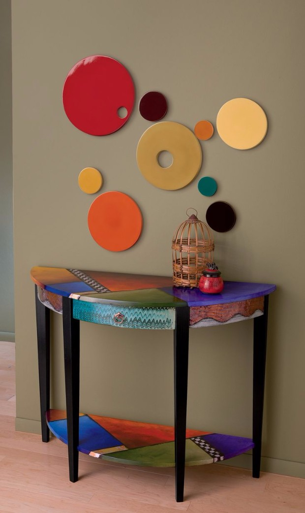 home ideas Home Ideas with Artistic Console Tables Home Ideas with Artistic Console Tables 9