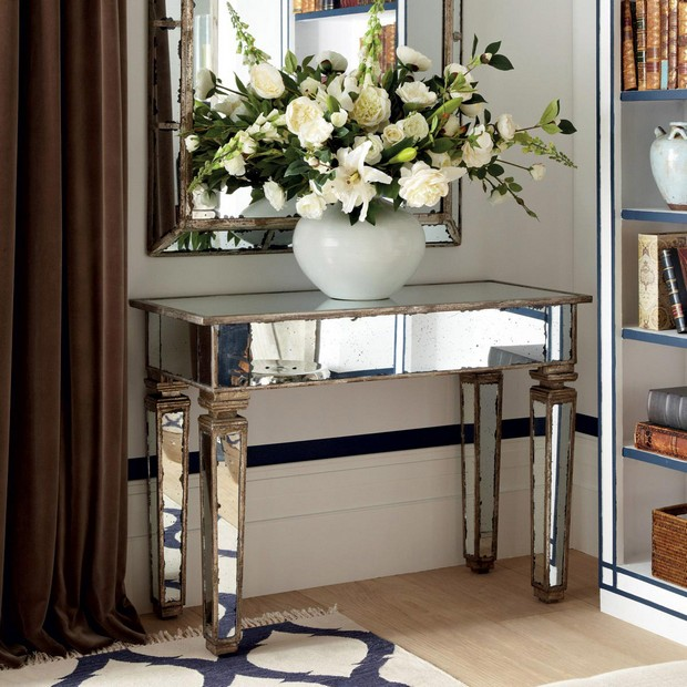 console table designs Perfect match: mirrors and console table designs 1 Perfect match mirrors and console table designs