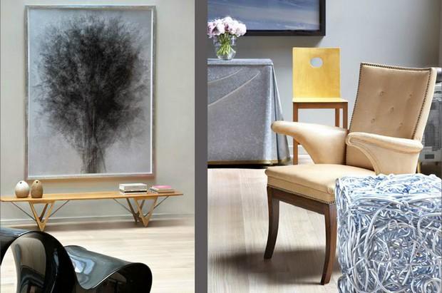 console tables Steven Volpe Luxury Interior Design with Console Tables 1 steven volpe san francisco loft
