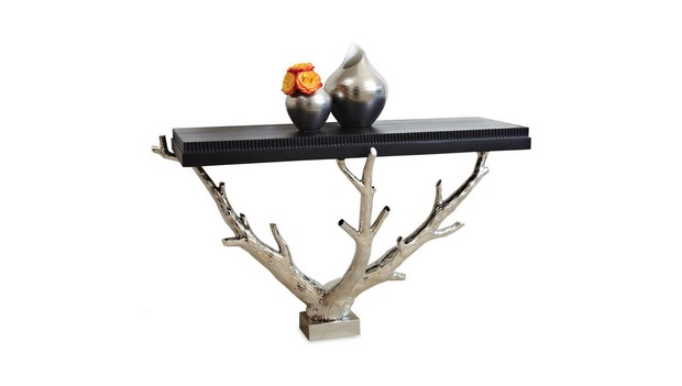 modern console tables Tree-Inspired Modern Console Tables 10