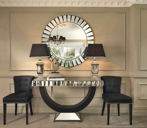 console table designs Perfect match: mirrors and console table designs 10 Perfect match mirrors and console table designs louis XVI and monochrome