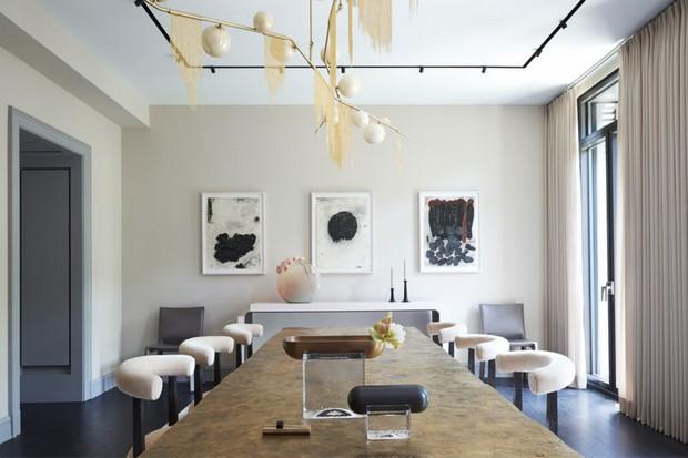 top interior designer top interior designer The Amazing Designs of Top Interior Designer Rafael de Cárdenas 1West Eleventh Street dining room view 1 960x640